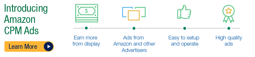 amazon cpm adsense alternative