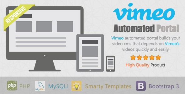 automated portal vimeo codecanyon demo onlineadrian