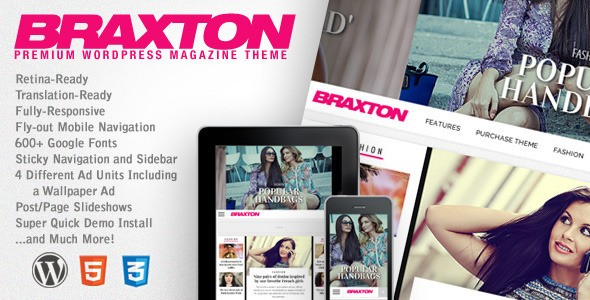 braxton wordpress theme 2016 onlineadrian