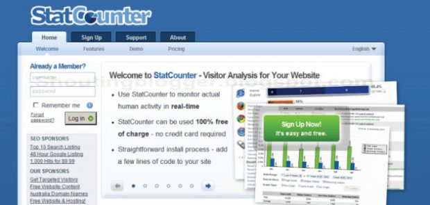 statcounter how to 2016 free invisible tracker