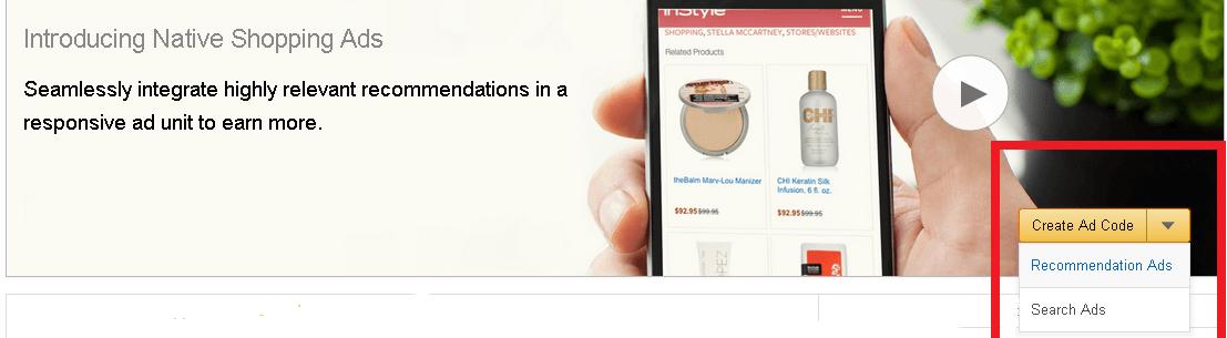 amazon native shopping ads 2016