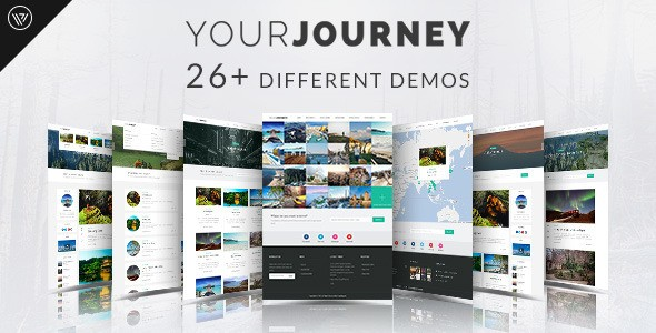 your journey wordpress theme themeforest