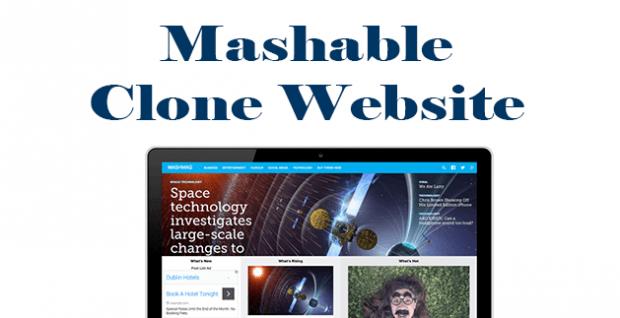 mashable clone site wordpress theme