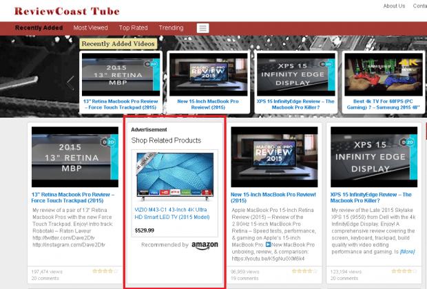 advertisment video blog 2016