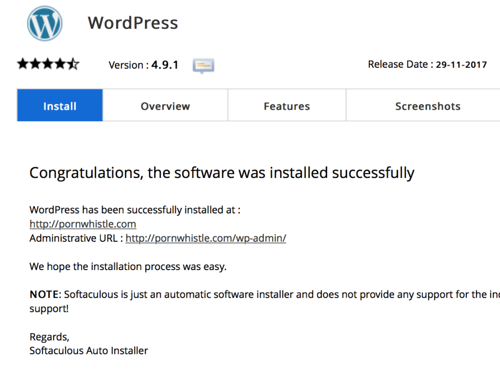 wordpress 2019 how to install