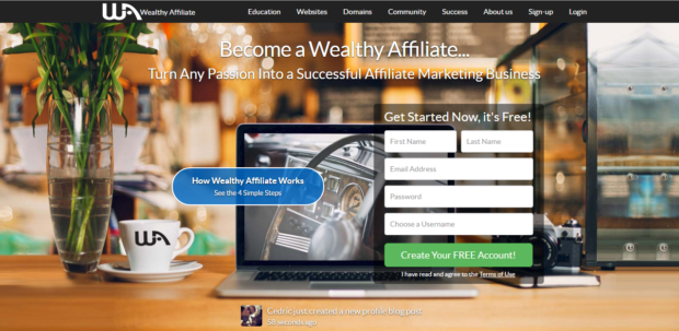 wealthy affiliate 2016 make money