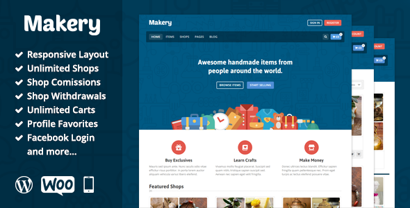 makery wordpress theme 2016