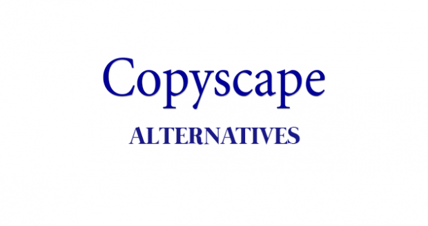 copyscape alternative 2017
