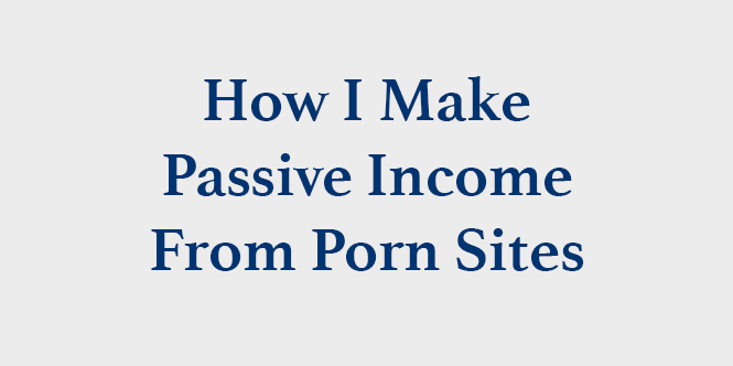 from Fabian how to make a porn site