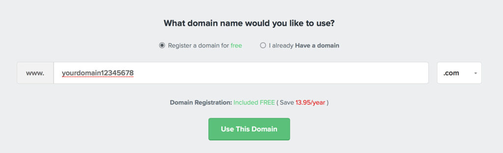 free domain name coupon 2019