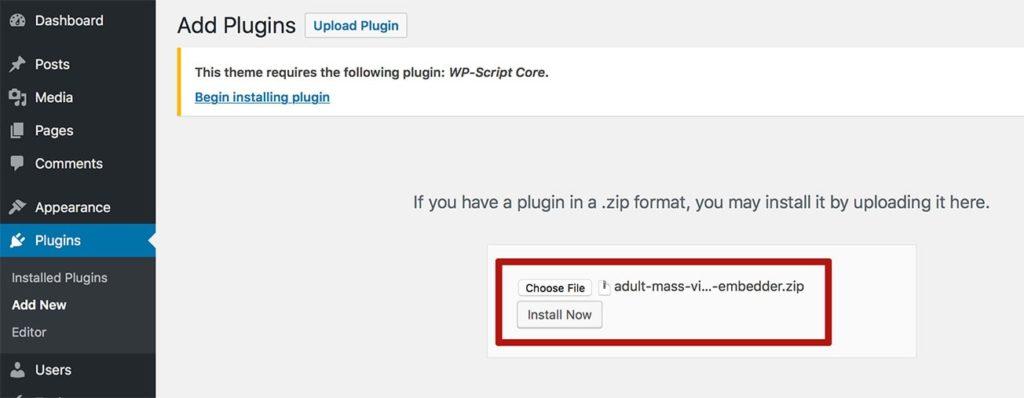 mass embedder onlineadrian plugin