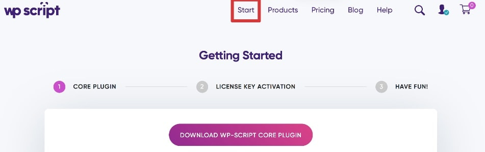 wp script license key free