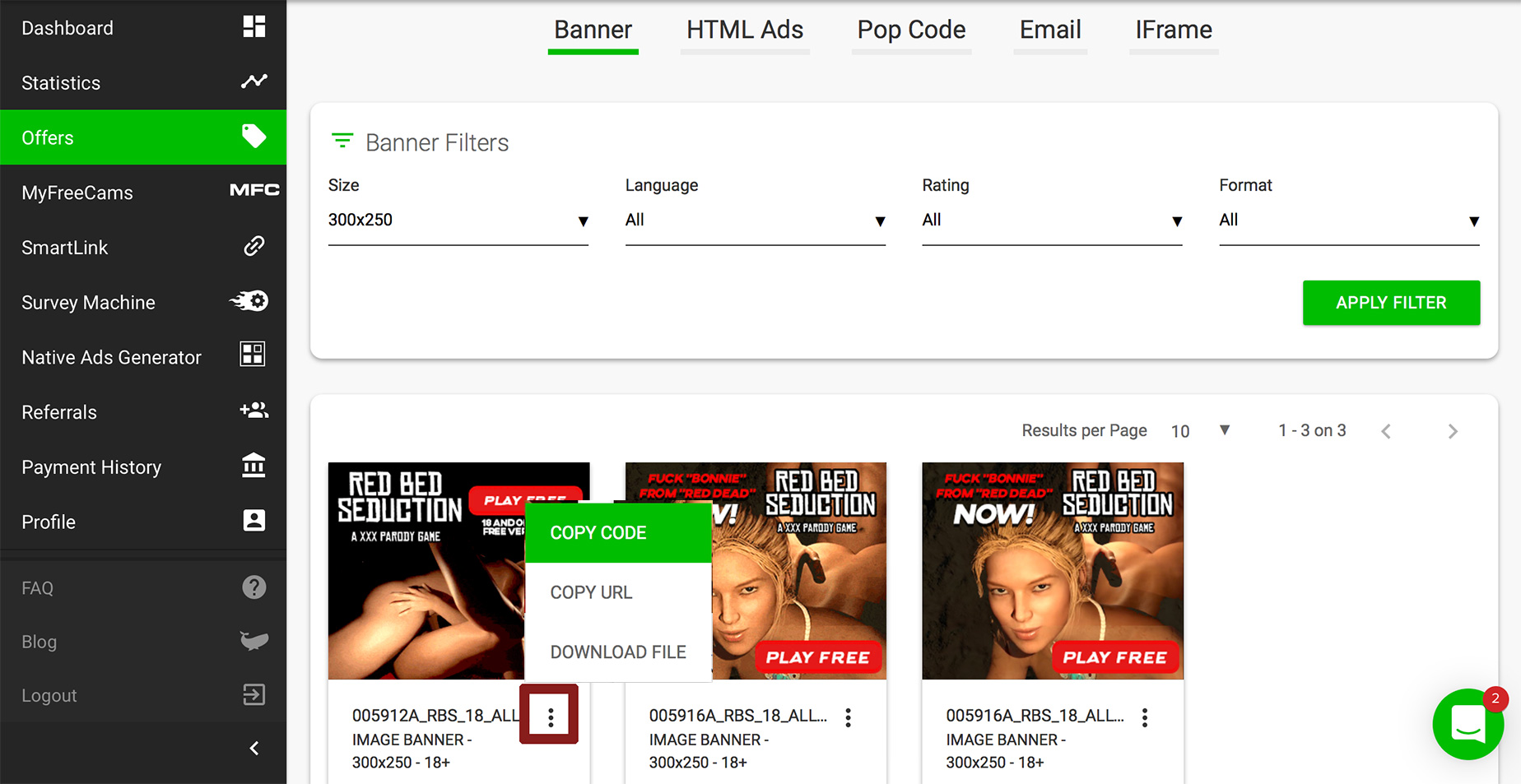 Affiliate Porn Program how to monetize a porn site - best adult affiliate networks